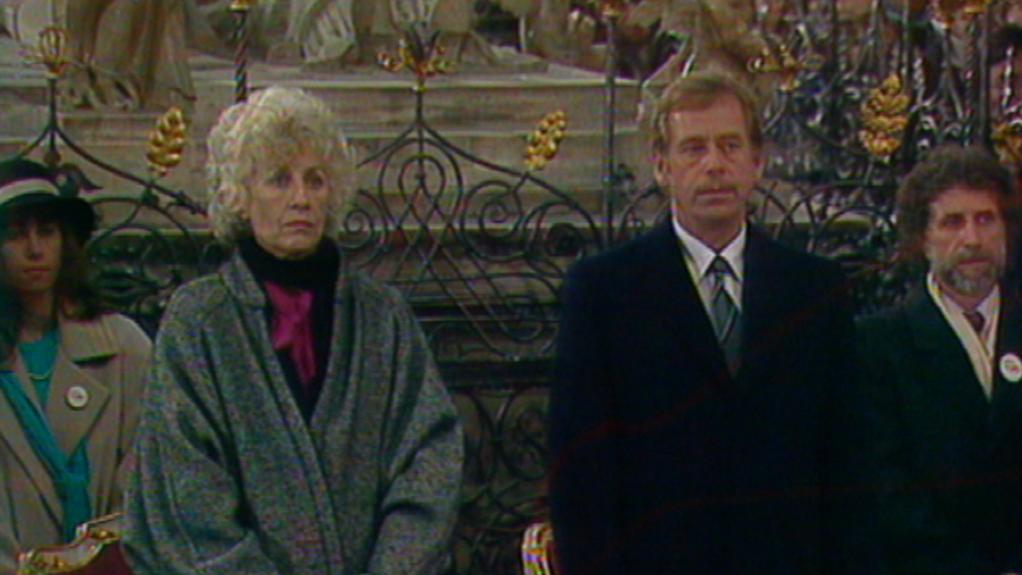 Václav Havel s manželkou Olgou