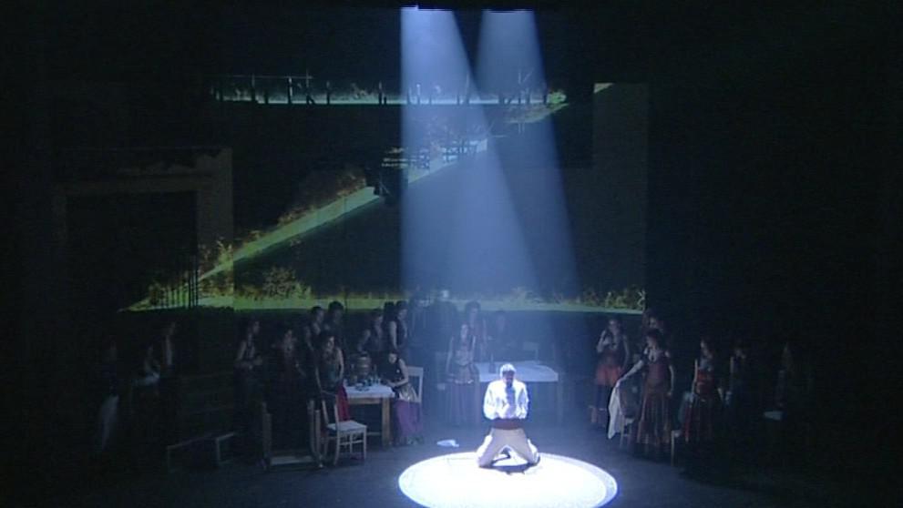 Inscenace Zorro v Městském divadle Brno