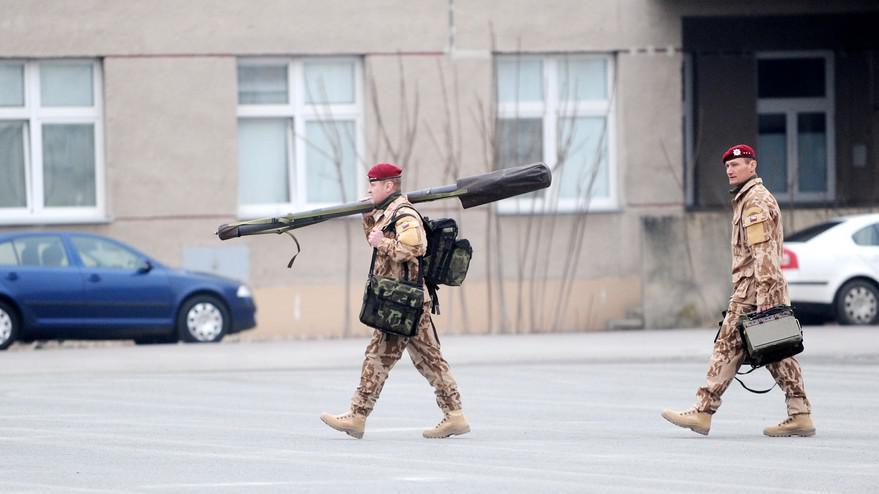 Čeští vojáci se připravují na misi v Mali