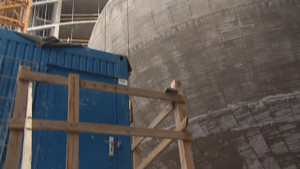 Vytvoření betonové koule bylo extrémně náročné