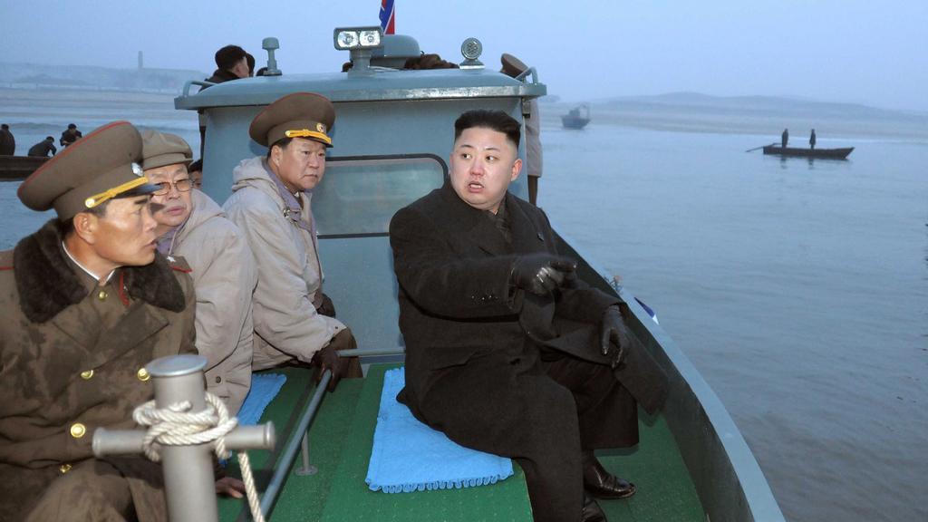 Kim Čong-un navštívil jednotky v přední linii