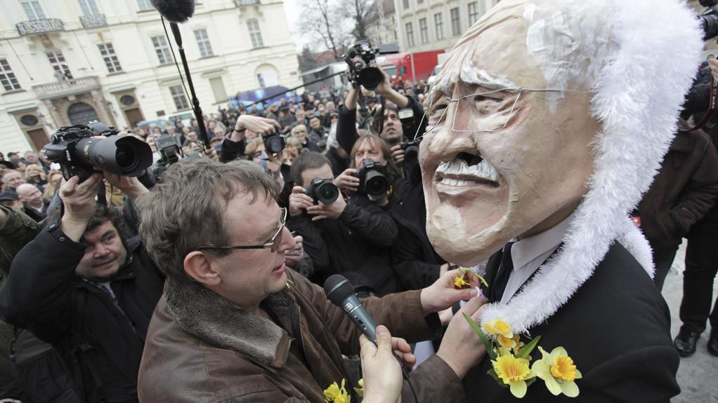 Oslava konce prezidentského mandátu Václava Klause