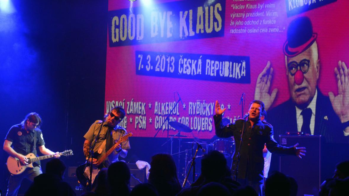Koncert Goodbye Klaus v pražské Lucerně