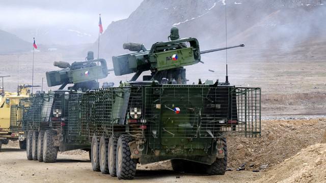 Čeští vojáci v Lógaru