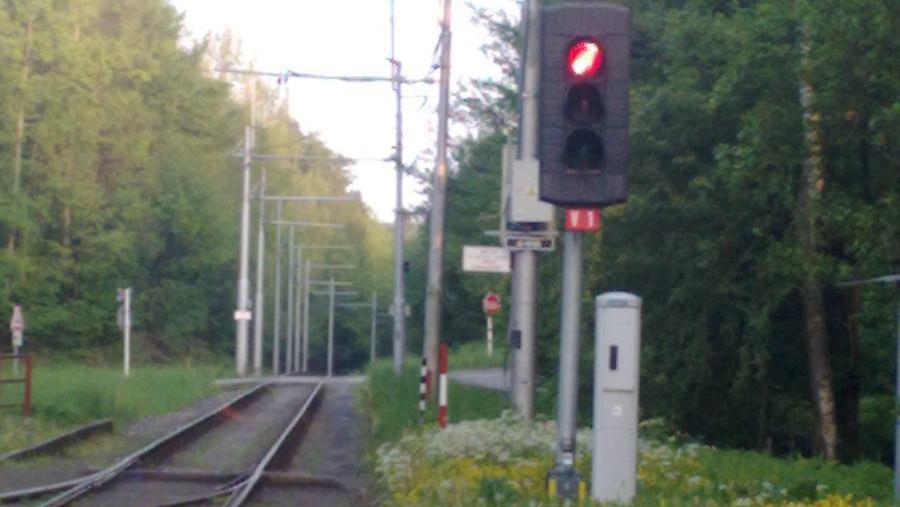 Signalizace na trase linky č. 5