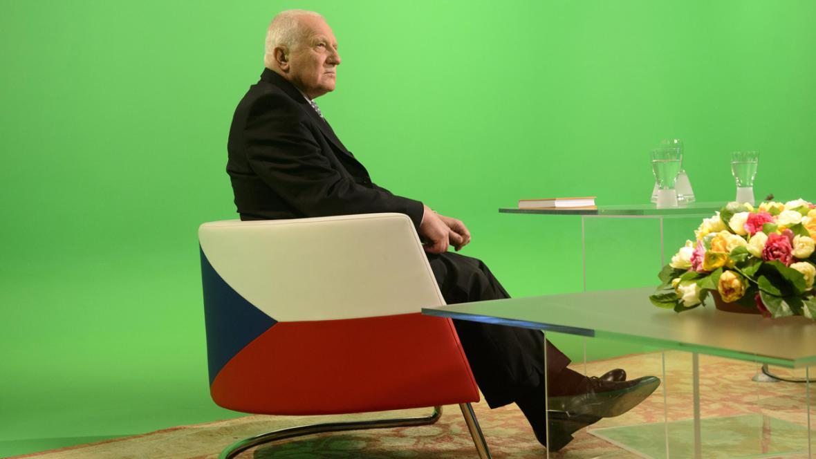 Rozhovor Václava Klause s Jakubem Železným pro ČT
