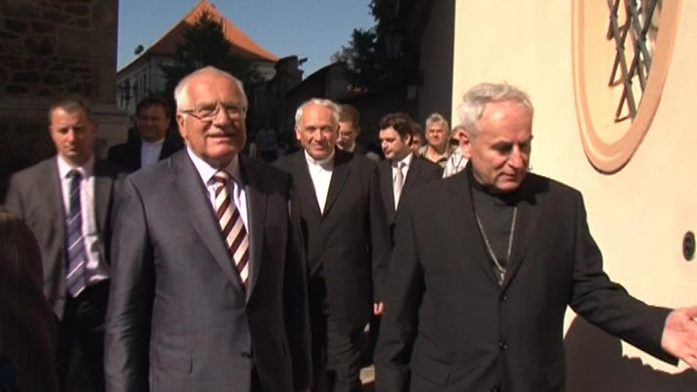 Návštěva Václava Klause v Brně