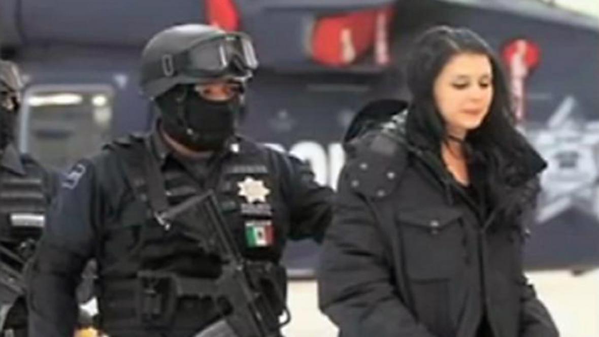 Zatčení Juliany Sossaové