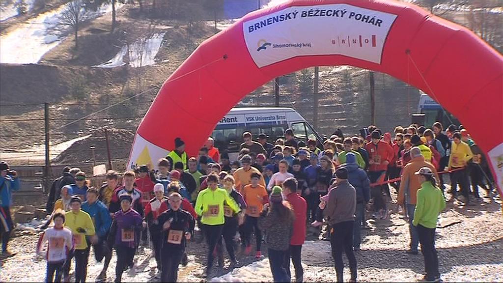 Sedmý závod Brněnského běžeckého poháru nabídl novou lokalitu