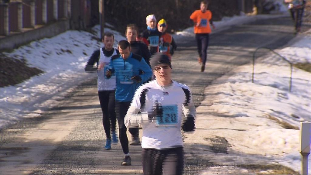 Na trať se vydali amatérští i profesionální běžci