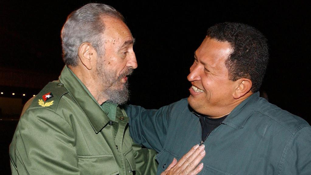 Cháveze a Castra pojilo dlouholeté přátelství