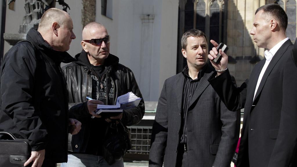 Jiří Komorous, Petr Dongres, Tomáš Kužel