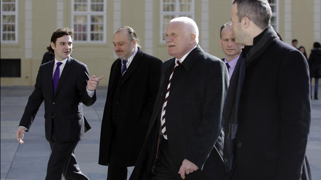 Odcházející prezident ČR Václav Klaus