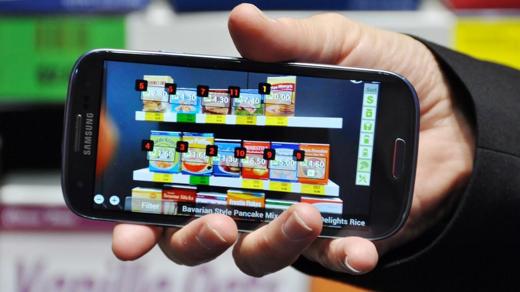 Veletrh CeBIT - ukázky nových mobilních aplikací