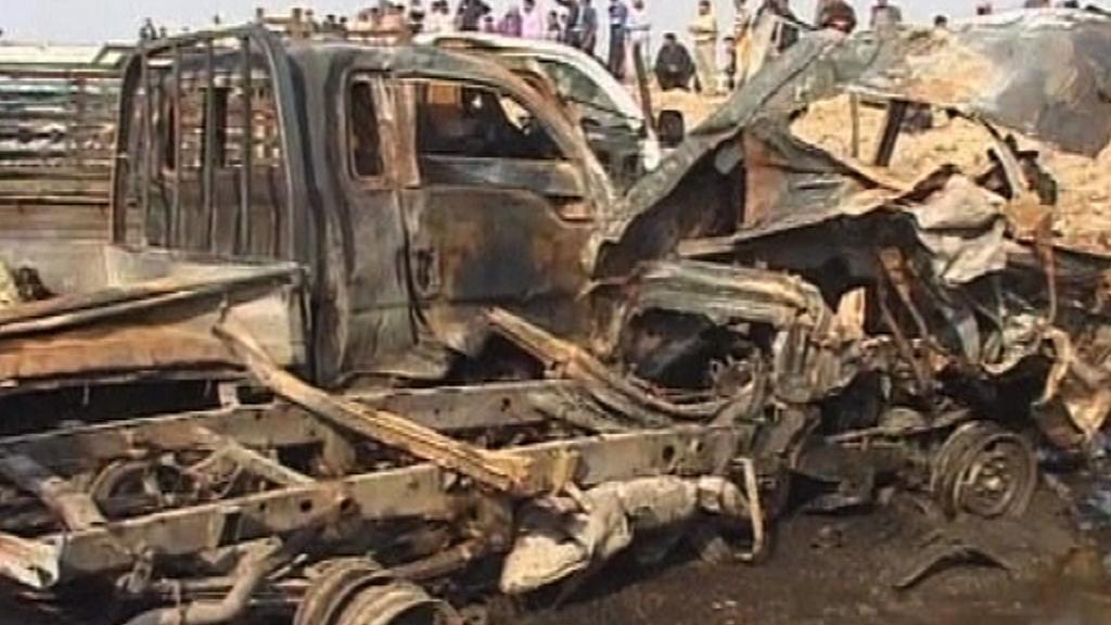 Útok na konvoj v Anbáru