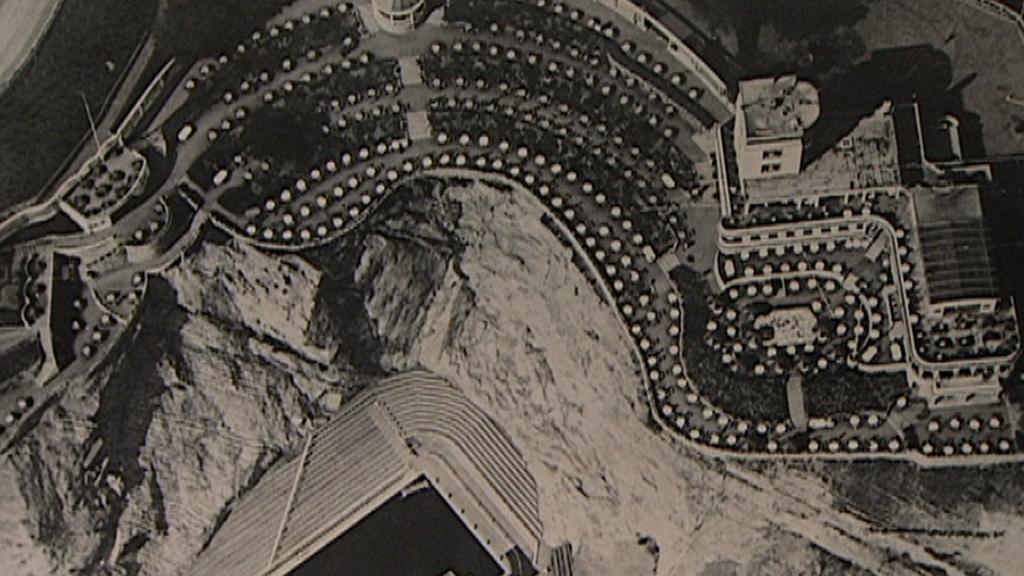 Barrandovské terasy z ptačí perspektivy