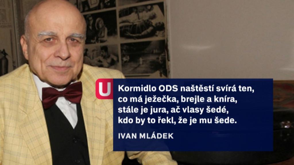 Ivan Mládek Klausovi k šedesátinám dokonce zaveršoval