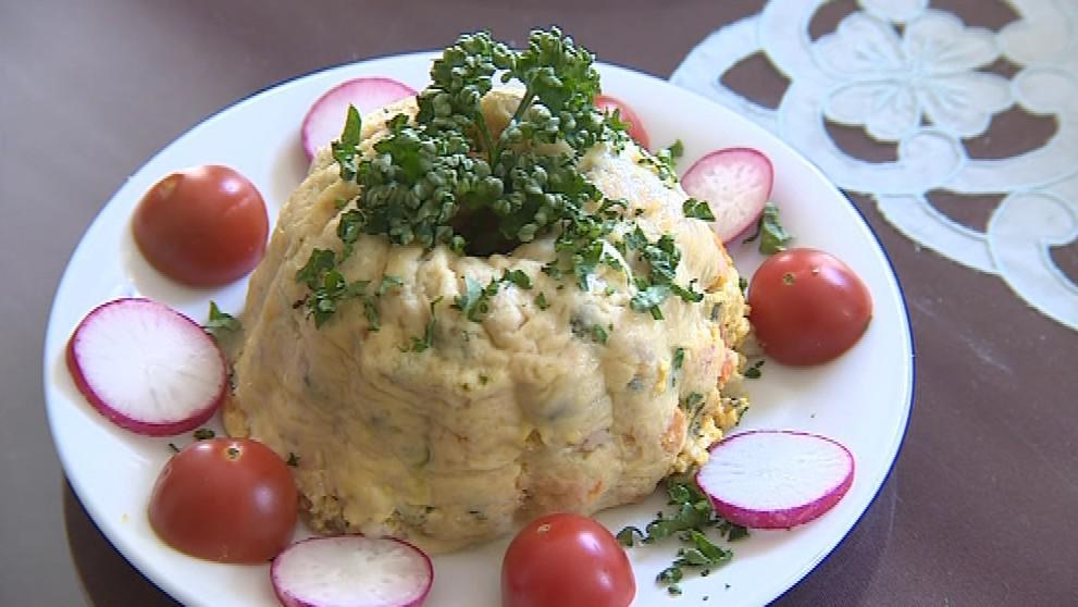 Zeleninový pudink podle receptury našich předků