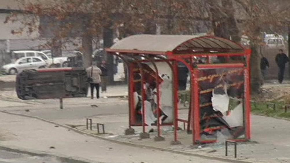 Nepokoje v Makedonii