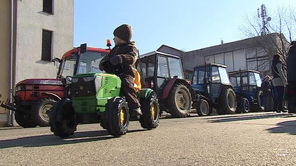 Sraz traktorů