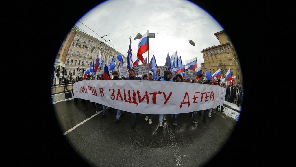 Ruský pochod na ochranu dětí