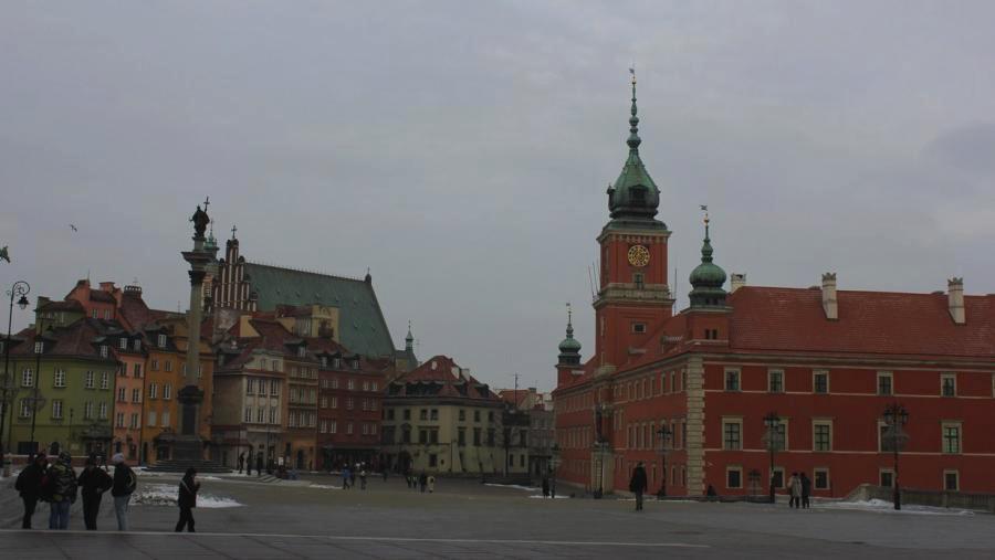 Historické centrum Varšavy