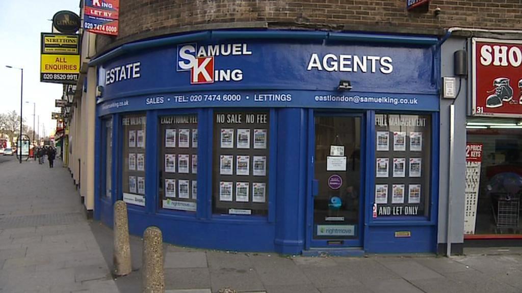 Londýnská realitní kancelář