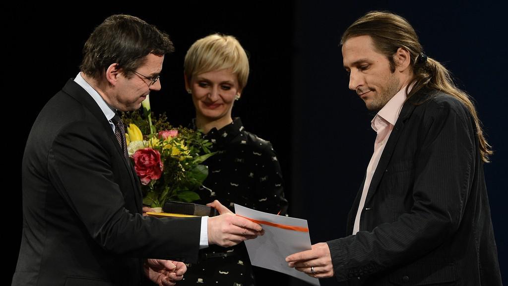Miloš Orson Štědroň (vpravo)