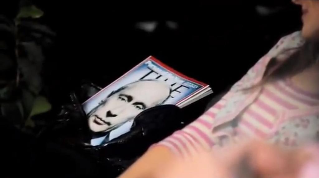 Putin na obálce časopisu Time