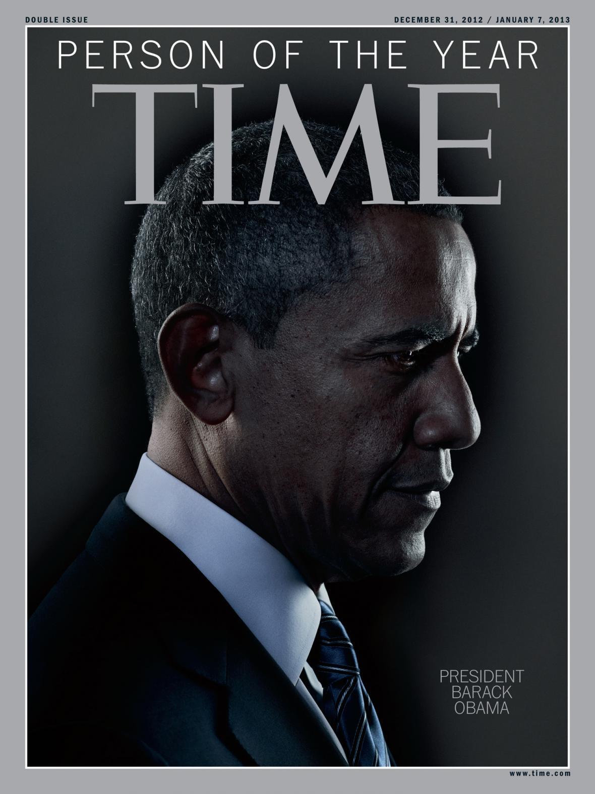 Barack Obama osobností roku časopisu Time