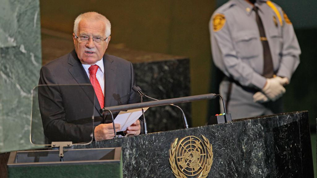Projev Václava Klause v OSN