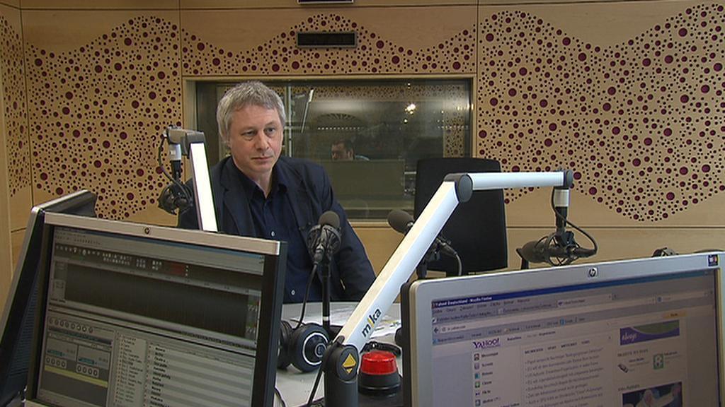 Šéfredaktor Českého rozhlasu Plus Daniel Raus