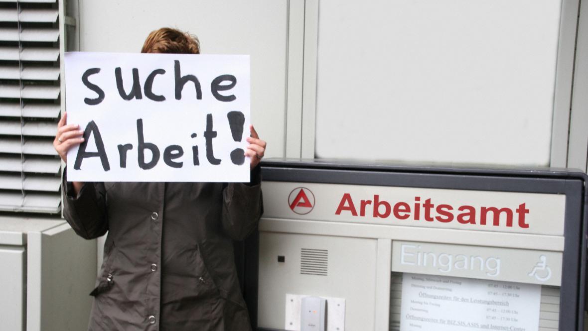 Německá nezaměstnanost