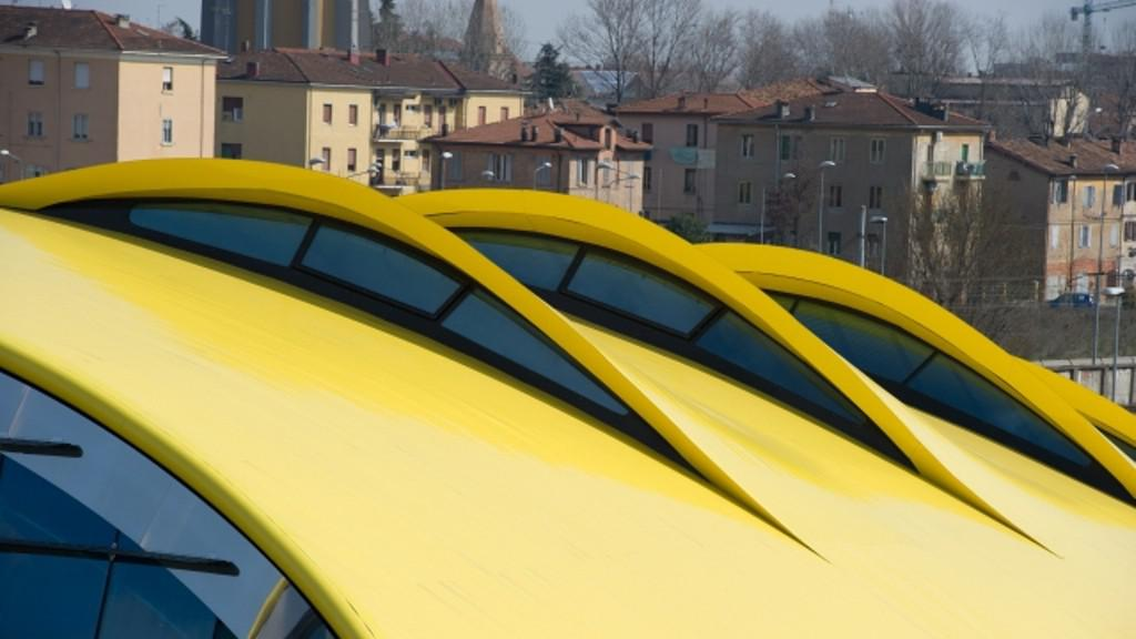 Muzeum Enza Ferrariho od Jana Kaplického