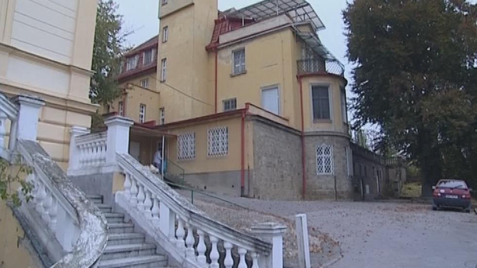 Vila, ve které sídlil kojenecký ústav