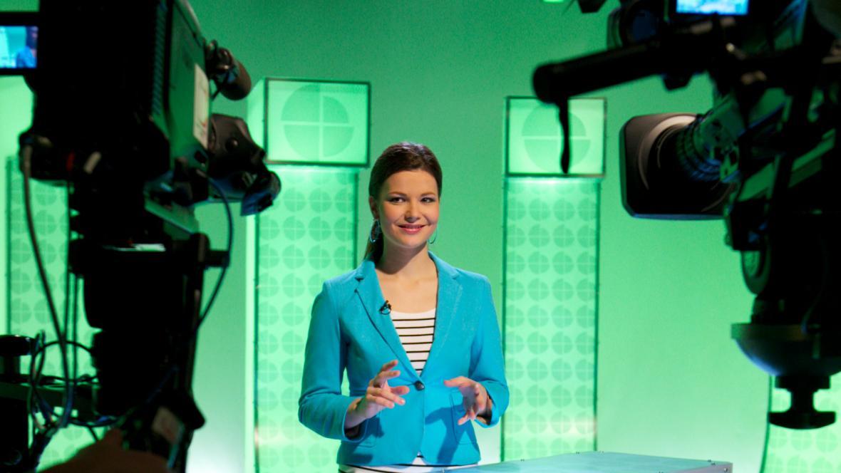Moderátorka Veronika Boleslavová