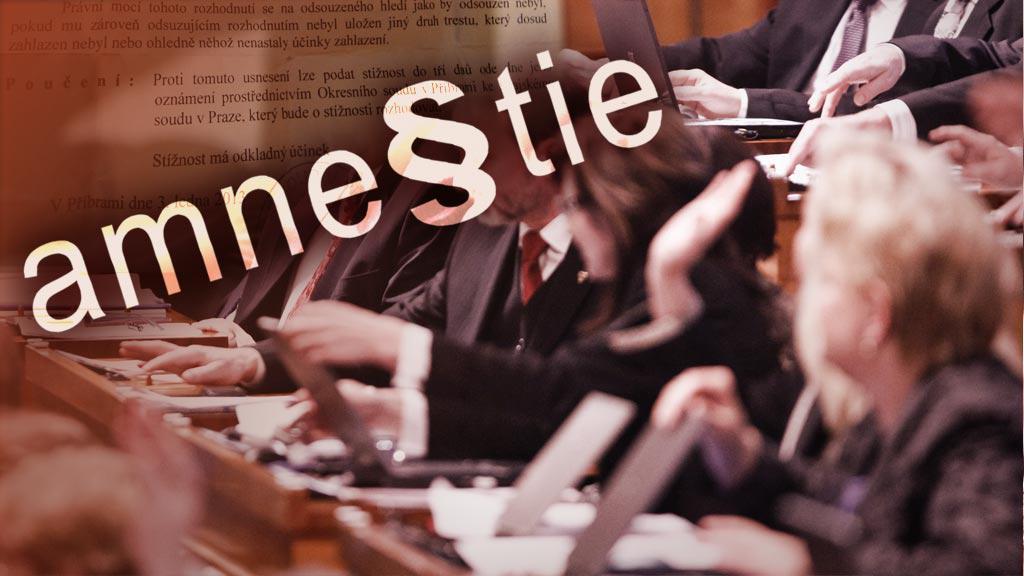 Amnestie v Senátu