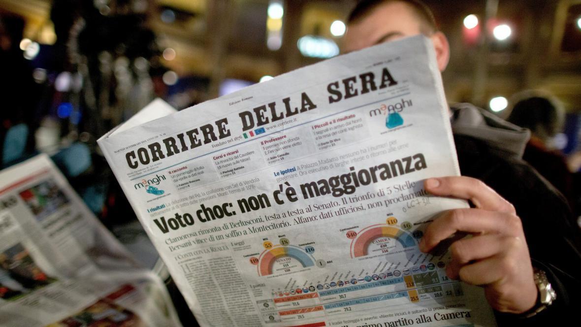 Volební pat v Itálii