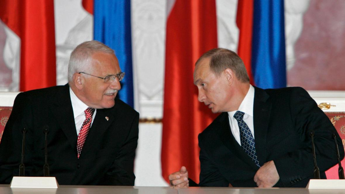 Klaus a Putin