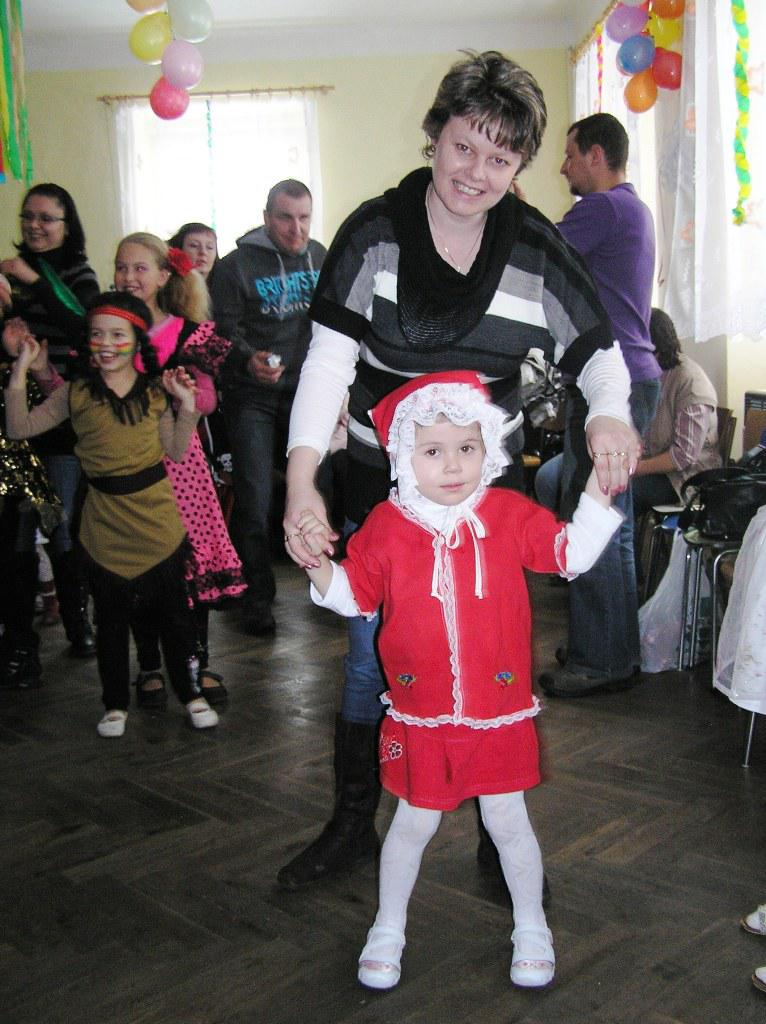 Dětský karneval v Kněžicích