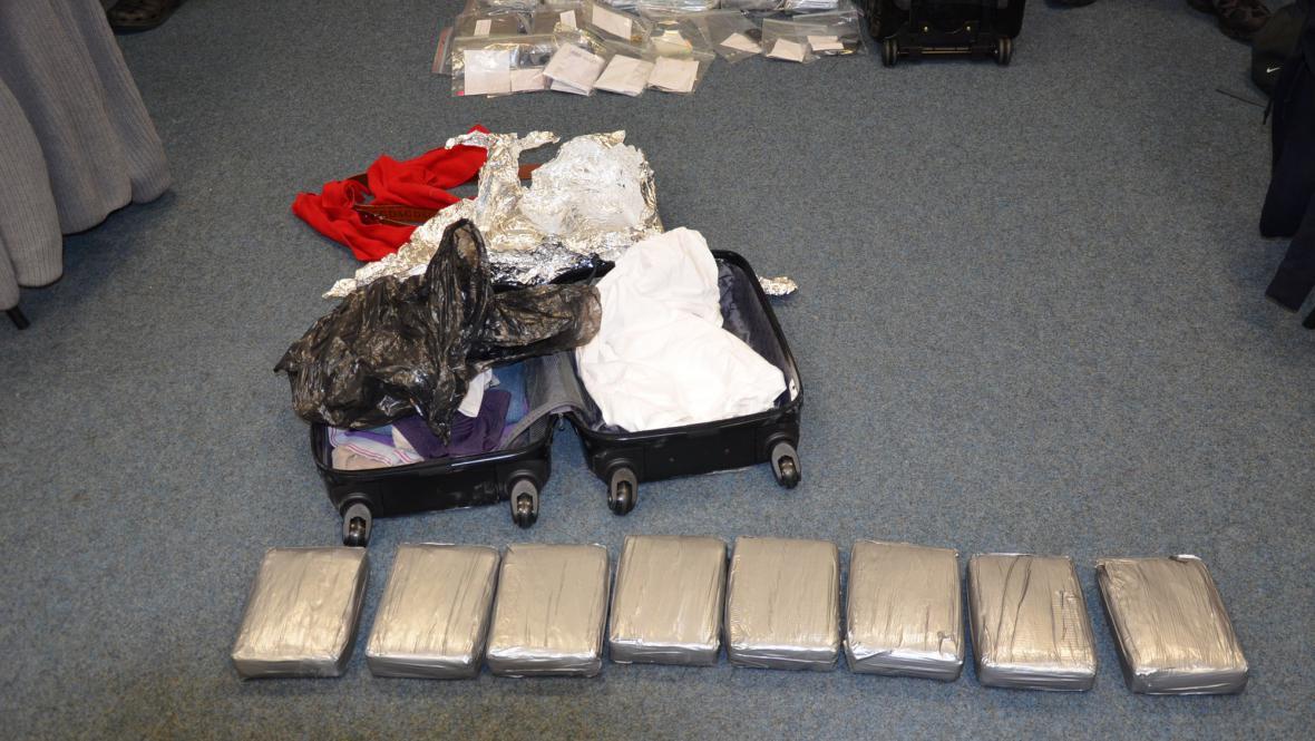 V zavazadlech Nizozemců nalezen kokain