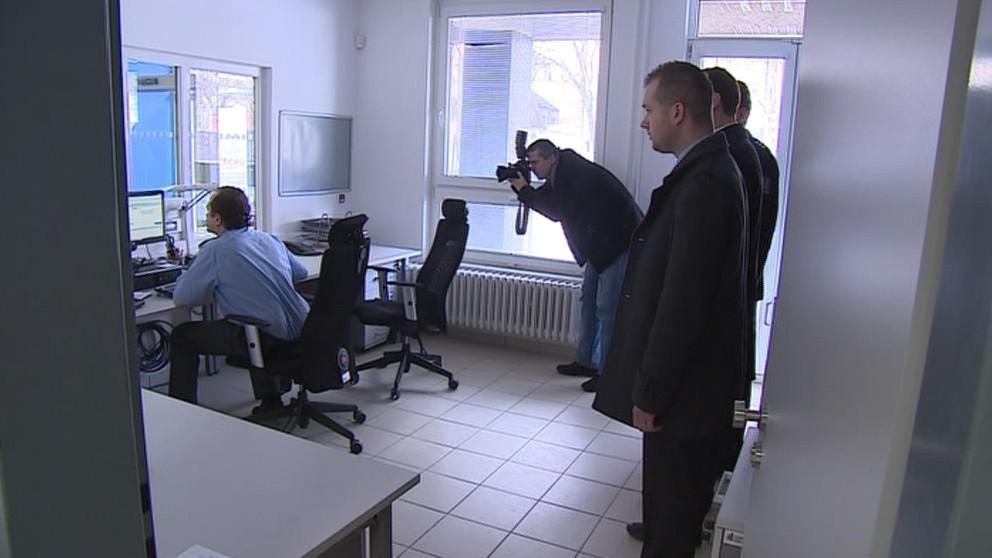 Nová policejní služebna na Třídě kapitána Jaroše v Brně