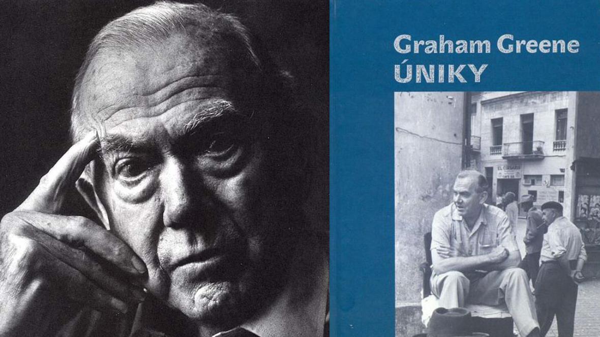 Spisovatel Graham Greene