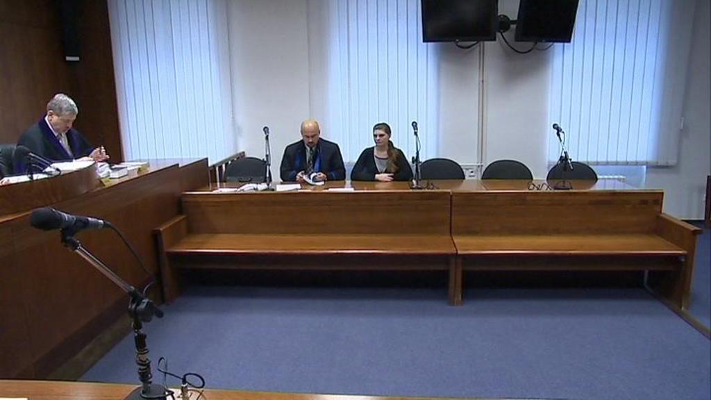 Pavlína Buchtová před soudem