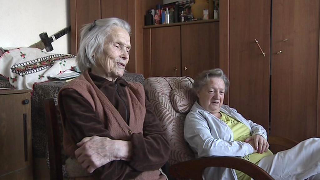 Lidia Dubovická s dcerou Jevgenijí