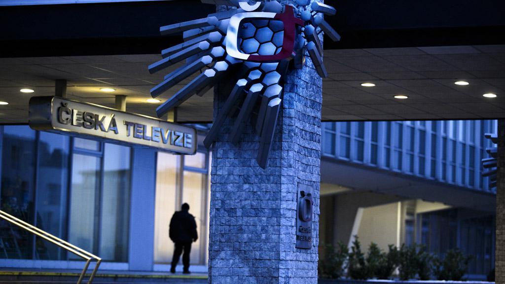Vchod do budovy České televize