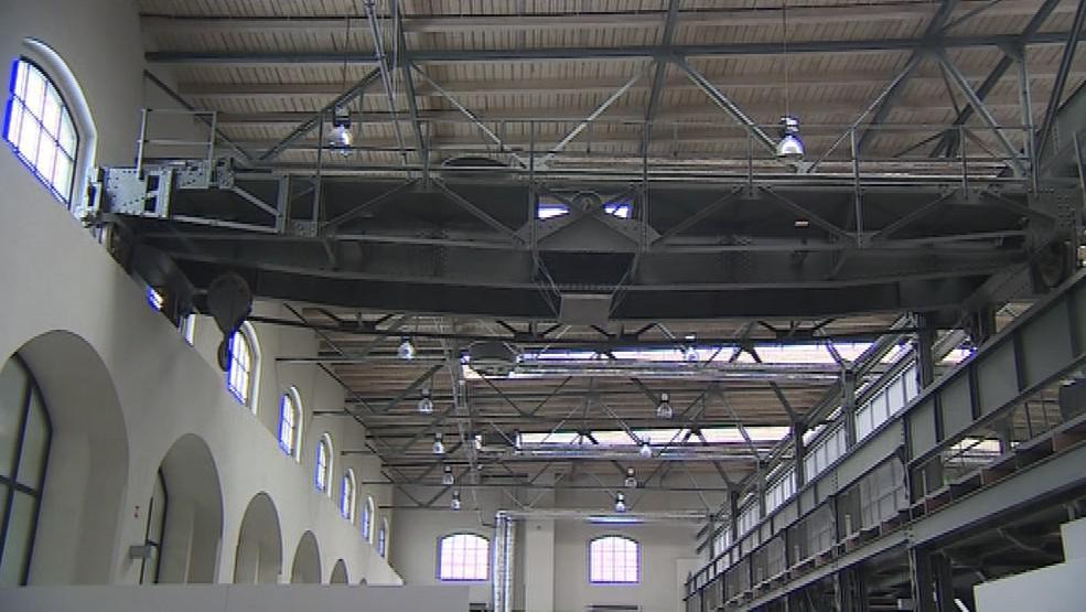 Wannieck Gallery vznikla v bývalé tovární hale