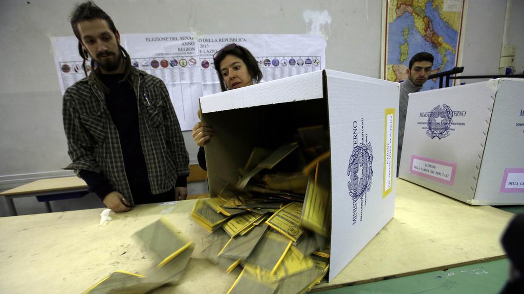 Sčítání italských voleb