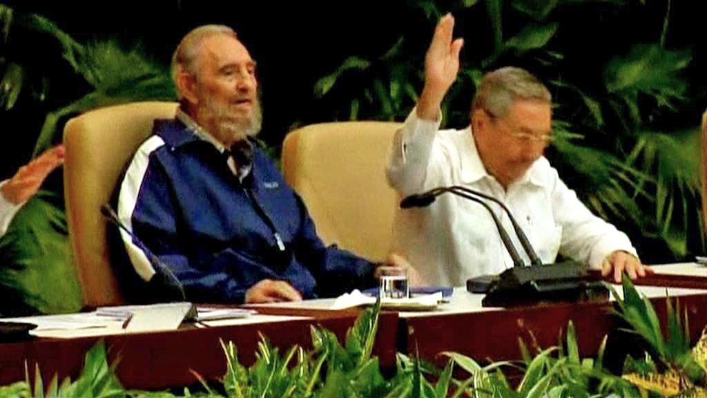 Fidel a Raúl Castrovi