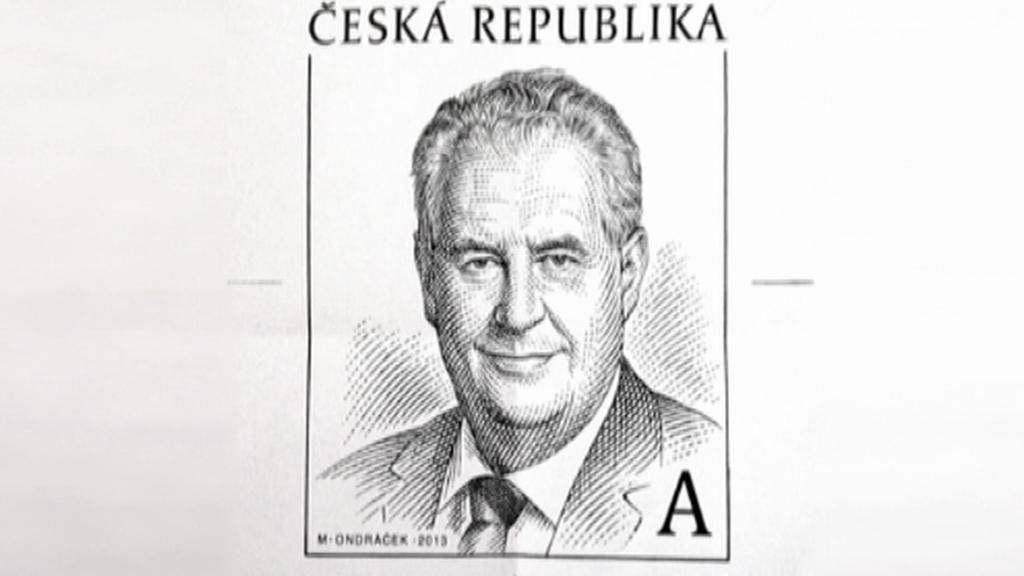 Schválená předloha pro poštovní známku